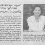 Carmen Lasorella 16 Maggio 2009 Assisi (PG)
