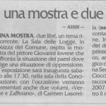 Carmen Lasorella e Giovanni Iovene Assisi (PG)